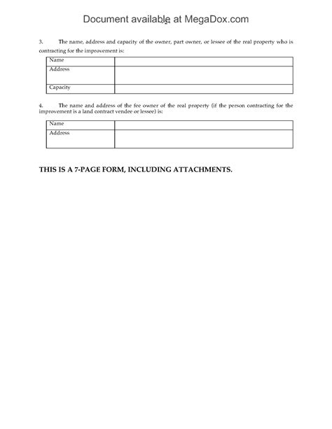 georgia notice of commencement form ohio notice of commencement form legal forms and
