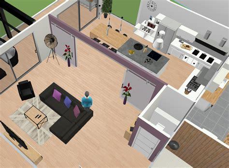 separation cuisine style atelier donner votre avis sur plan d 39 amenagement salon cuisine