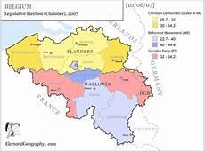 Belgium Legislative Election 2007 Electoral Geography 20