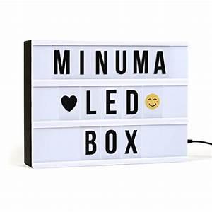 Lampe Mit Buchstaben : lightbox spr che f r ihr wohnambiente die hausbar ~ Watch28wear.com Haus und Dekorationen