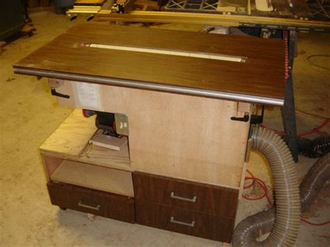shop built  drum sander homemade tools pinterest