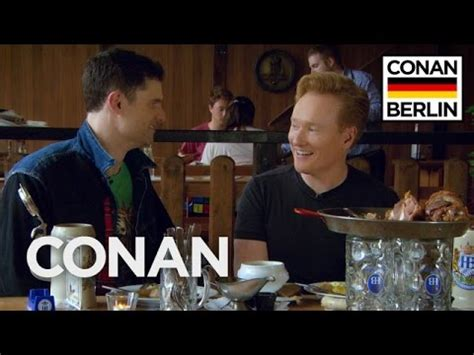 Tastefully Offensive Conan O'brien Gets A German Lesson From Flula Borg