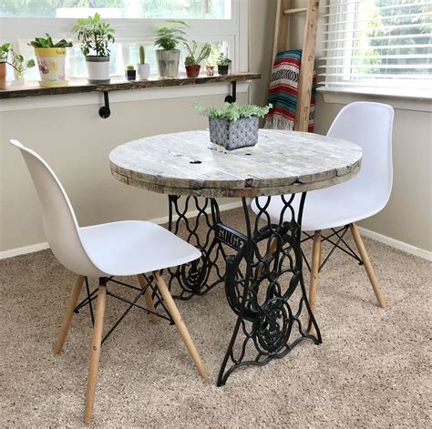 unique vintage looking small and dining table