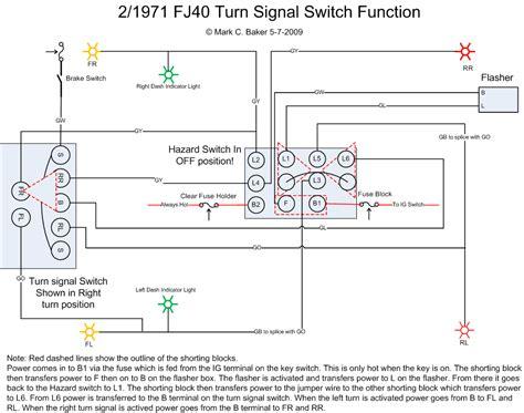 turn signal flasher wiring diagram turn signal flasher