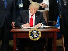 Trump Signs Executive Order to Offset Agencies' Increased Administrative Spending…