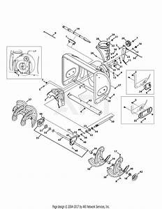 Troy Bilt 31ah64q4711 Storm 2840  2013  Parts Diagram For