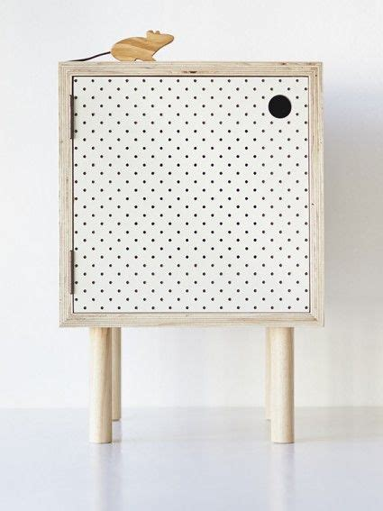 pegboard table bedside table ply and white pegboard this is very cool but surely al must be able to make