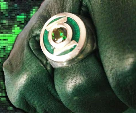 Green Lantern Replica Ring   INTERWEBS