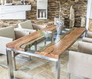 Wandlampe Selber Bauen : der tischonkel designertisch massivholztisch mit glas ~ Lizthompson.info Haus und Dekorationen