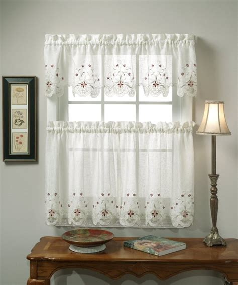 curtains ideas different curtain design patterns home designing Kitchen
