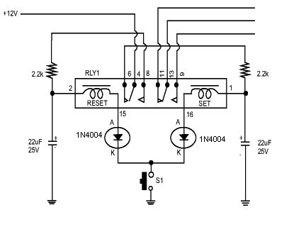One Pulse Off Bistable Latching Relay Electrical