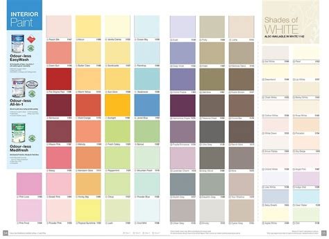 Color Chart Exterior Nippon Paint
