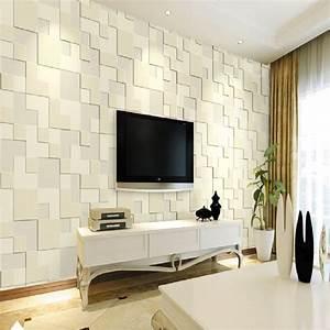 3D 10M Wallpaper Bedroom Mural Roll Modern Stone Brick ...