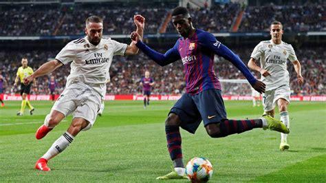 Real Madrid - Barcelona: horario, TV y dónde ver online El ...
