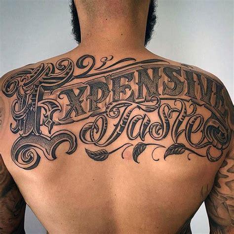 superior de la espalda tatuajes  los hombres