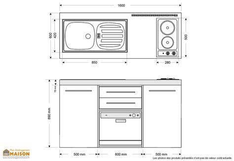 dimensions plan de travail cuisine plan de travail cuisine 14 accueil meuble meuble