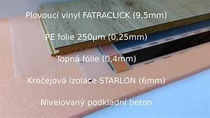 Vinyl a podlahové topení