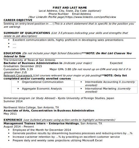sle microsoft resume 9 documents in word