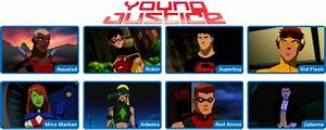 Re Young Justice Season One Page 14 Animated Shows