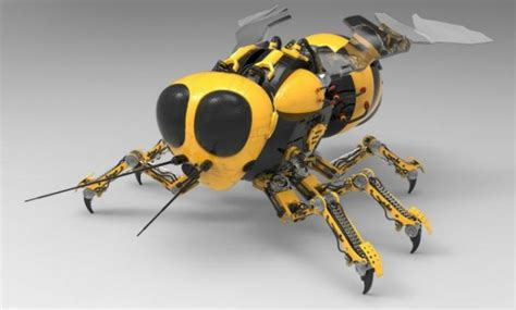 Robot Bees To Mars Nasa Funds Swarm Insects For Exploring