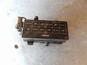 98 99  Fits 1999 Se  Nissan Sentra Se Main Fuse And Relay