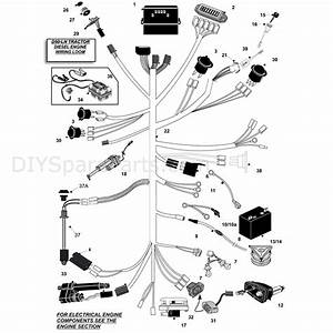 Countax D50ln Lawn Tractor 2009  2009  Parts Diagram