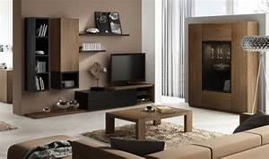 ENSEMBLE MEUBLE TV MURAL NOTTE Mobilier Design Pour