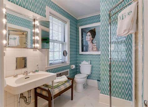 wallpapered rooms    inspire bob vila