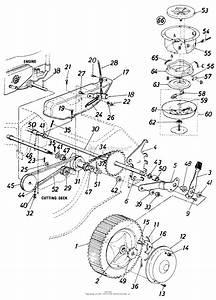 Yardman Self Propelled Lawn Mower Diagrams