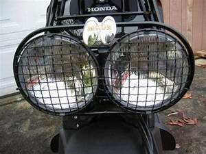 Set Headlight Cover Wire Mesh Honda Ruckus Scooter Zoomer Head Light Nps50 New