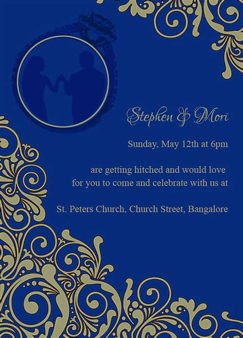 indian engagmentbetrothal ceremony invitation wordings