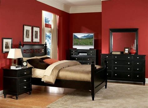 bold red bedroom color wearefound home design