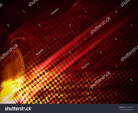 Racing Abstract Background Contains Elements Checkered