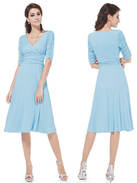 light blue casual dress v neck cheap light blue casual dress with sleeves v neck