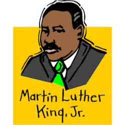 Image result for dr. lurther king Clip Art