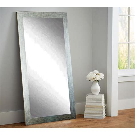 floor mirror home depot silver shade tall floor wall mirror av4tall the home depot