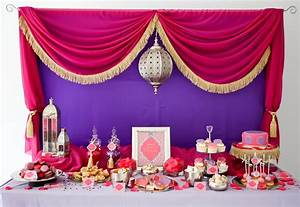 A Stunning Moroccan Birthday Party - Anders Ruff Custom