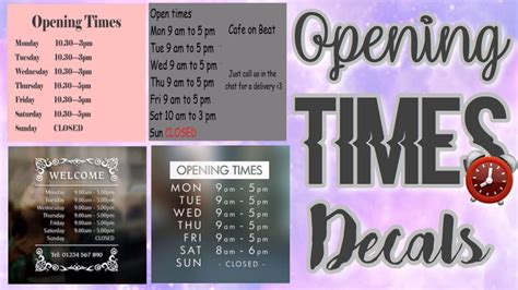 roblox bloxburg opening times decal ids youtube
