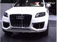 Roadflycom Audi Q7 V12 TDI Diesel Concept Car YouTube