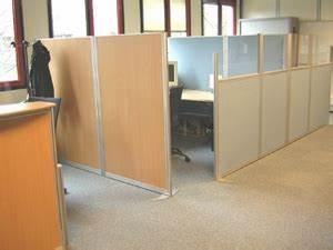 Cloison Acoustique Bureau : tecca produits cloisons de bureaux ~ Premium-room.com Idées de Décoration