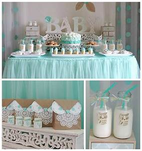"""Kara's Party Ideas Turquoise Owl """"Welcome Home Baby"""" Party"""