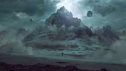 Monody Fantasy Artwork Landscape Landscapes Concept Epic