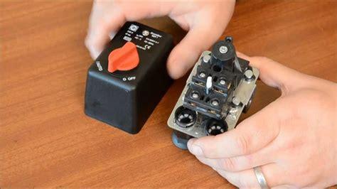 condor mdr air compressor pressure switch youtube