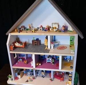fabriquer une maison de poupee ou de playmobil comment With déco chambre bébé pas cher avec realiser un bac a fleur en bois