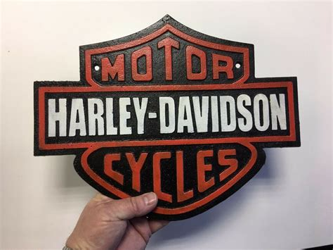 Harley Motorcycle Sign Motorcycle Bike Sign Motorcycles