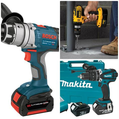 best cordless drill 5 best cordless hammer drill of 2018 reviews and buyer s guide