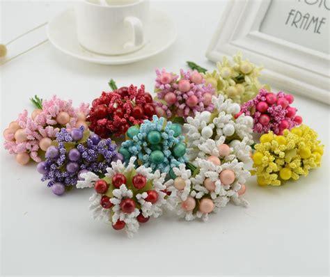 pcs berry stamens fake flower cheap artificial flowers