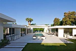 L Shaped Modern House and Contemporary Architectural Home