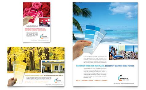 House Painting Contractor Flyer & Ad Template