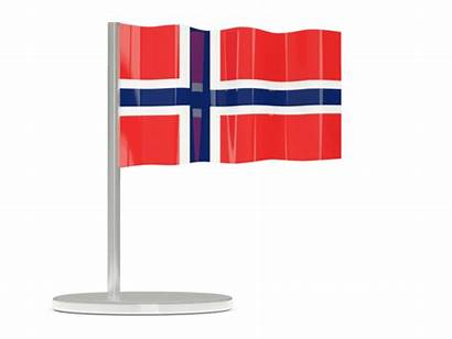 Norway Flag Graphics 3d Illustration Waving Icon